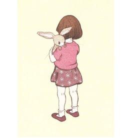 Belle & Boo card - Belle hugs Boo