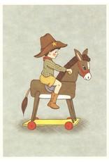 Belle & Boo kaart - Hobbelpaard