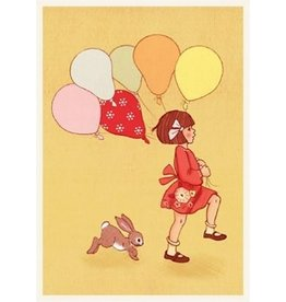 Belle & Boo card - Balloon