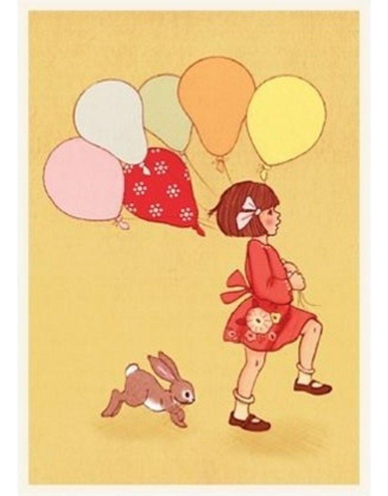 Belle & Boo card - Balloon