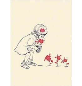 Belle & Boo kaart - Bloemen