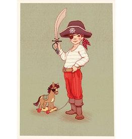 Belle & Boo kaart - Ahoy Piraat!