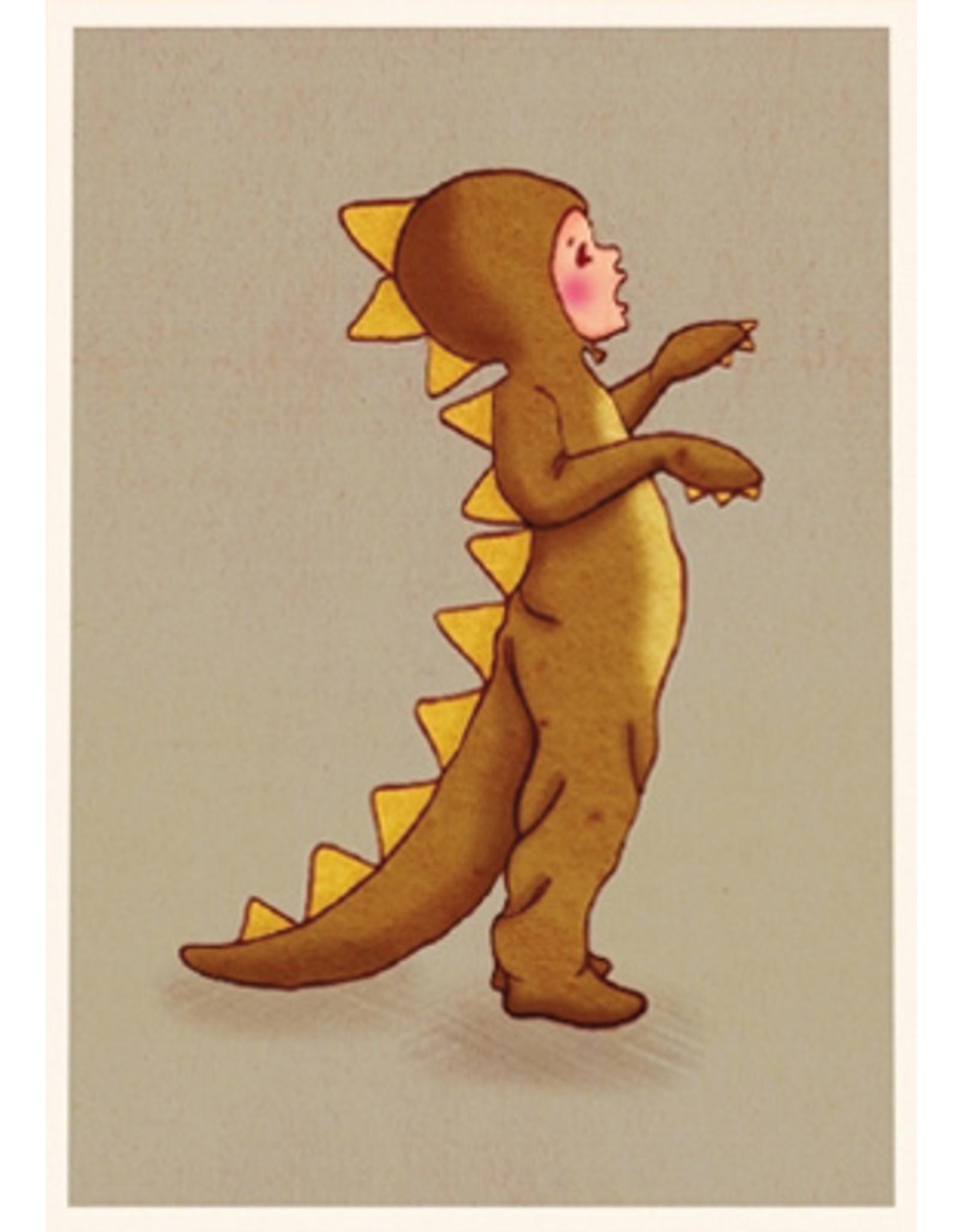 Belle & Boo card - Roar