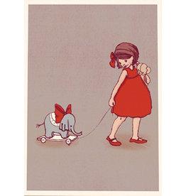 Belle & Boo kaart - Olifant