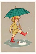 Belle & Boo kaart - Paraplu