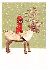 Belle & Boo christmas card - Me and my reindeer