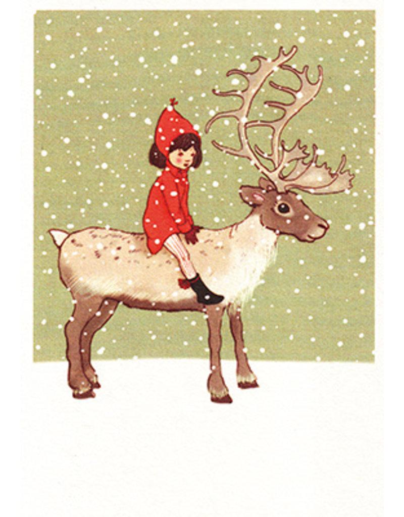 Belle & Boo kerstkaart - Ik en mijn rendier