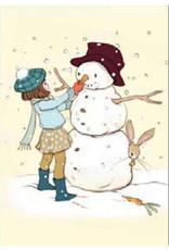 Belle & Boo christmas card - The Snowman