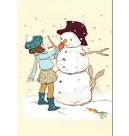 Belle & Boo christmas card - The Snowman
