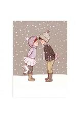 Belle & Boo christmas card - Winterkiss