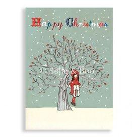 Belle & Boo christmas card - My favorite spot