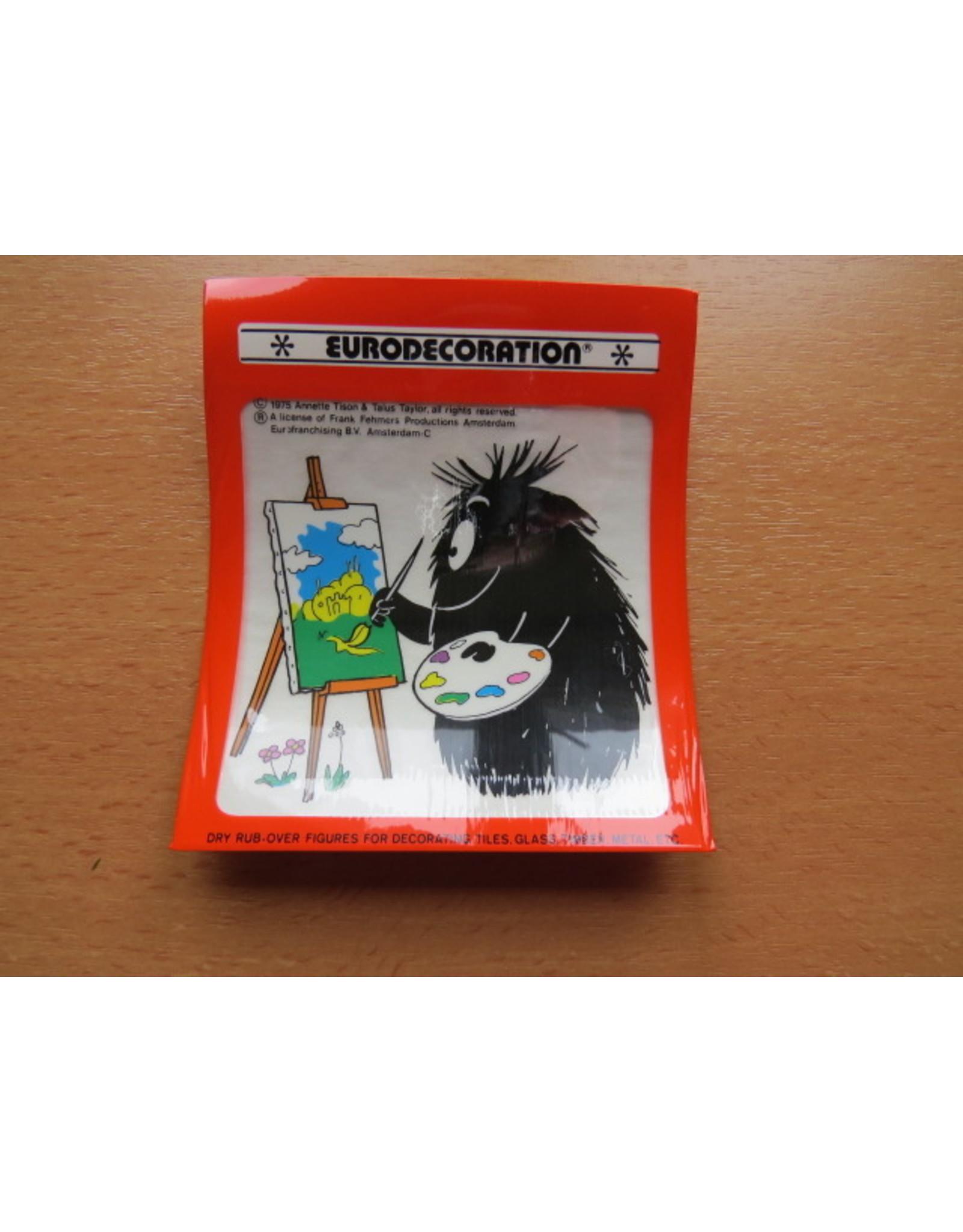 Barbapapa - vintage Decal tegel stickers