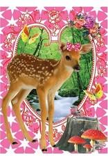 De Kunstboer - Bambi maxi card