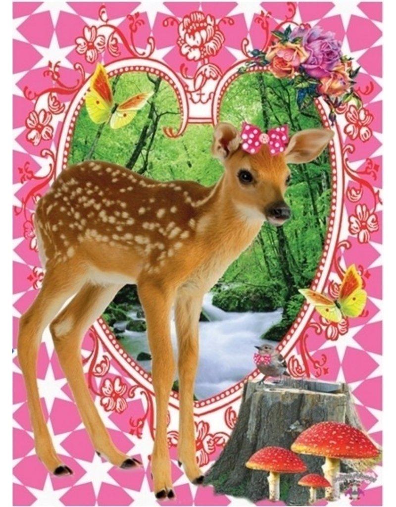 De Kunstboer - Bambi maxi kaart
