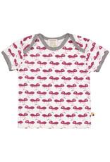 loud+proud Kids t-shirt - fuchsia ants