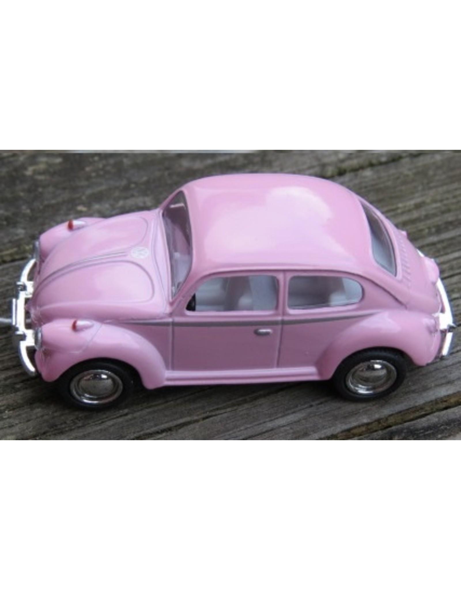 Volkswagen Kever (1:64) - roze