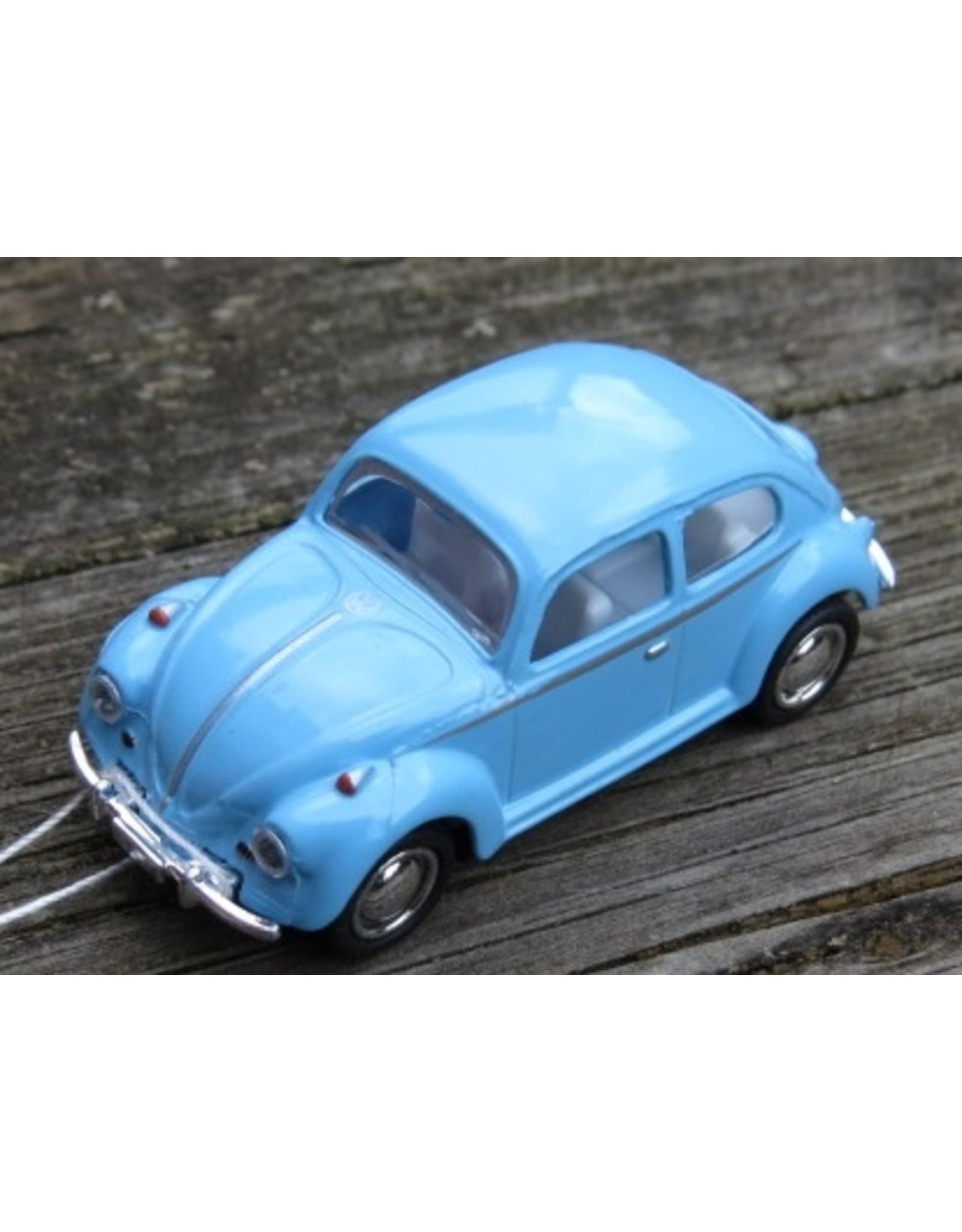 Volkswagen Kever(1:64) - blauw