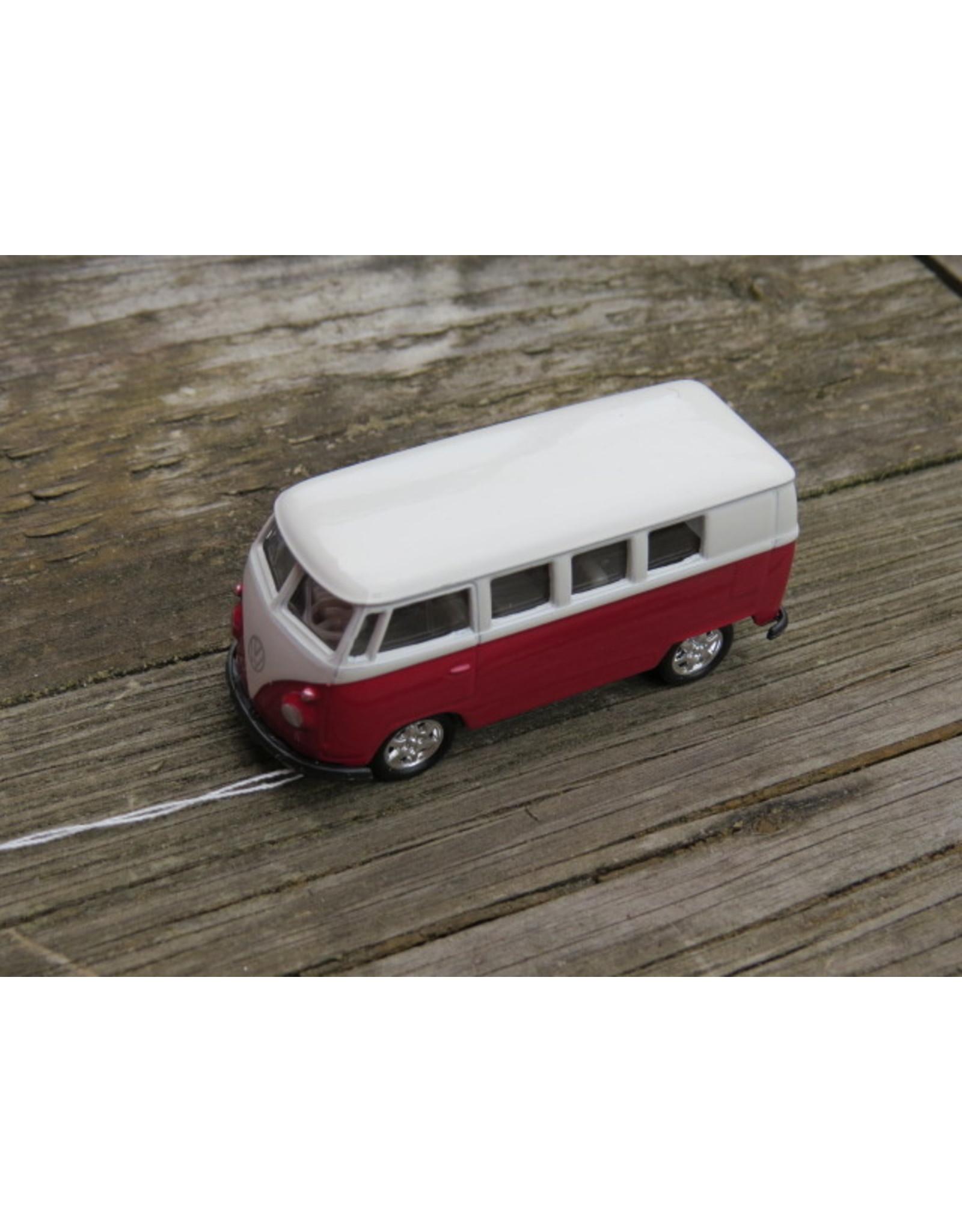 Volkswagen T1 Busje (1:64) - rood