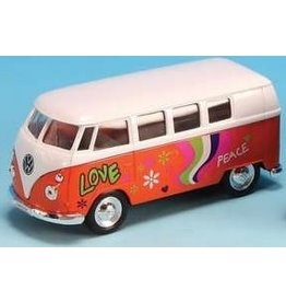 Volkswagen hippie van  (1:34) - orange