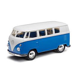 Volkswagen 1962 Busje (1:32) - blauw