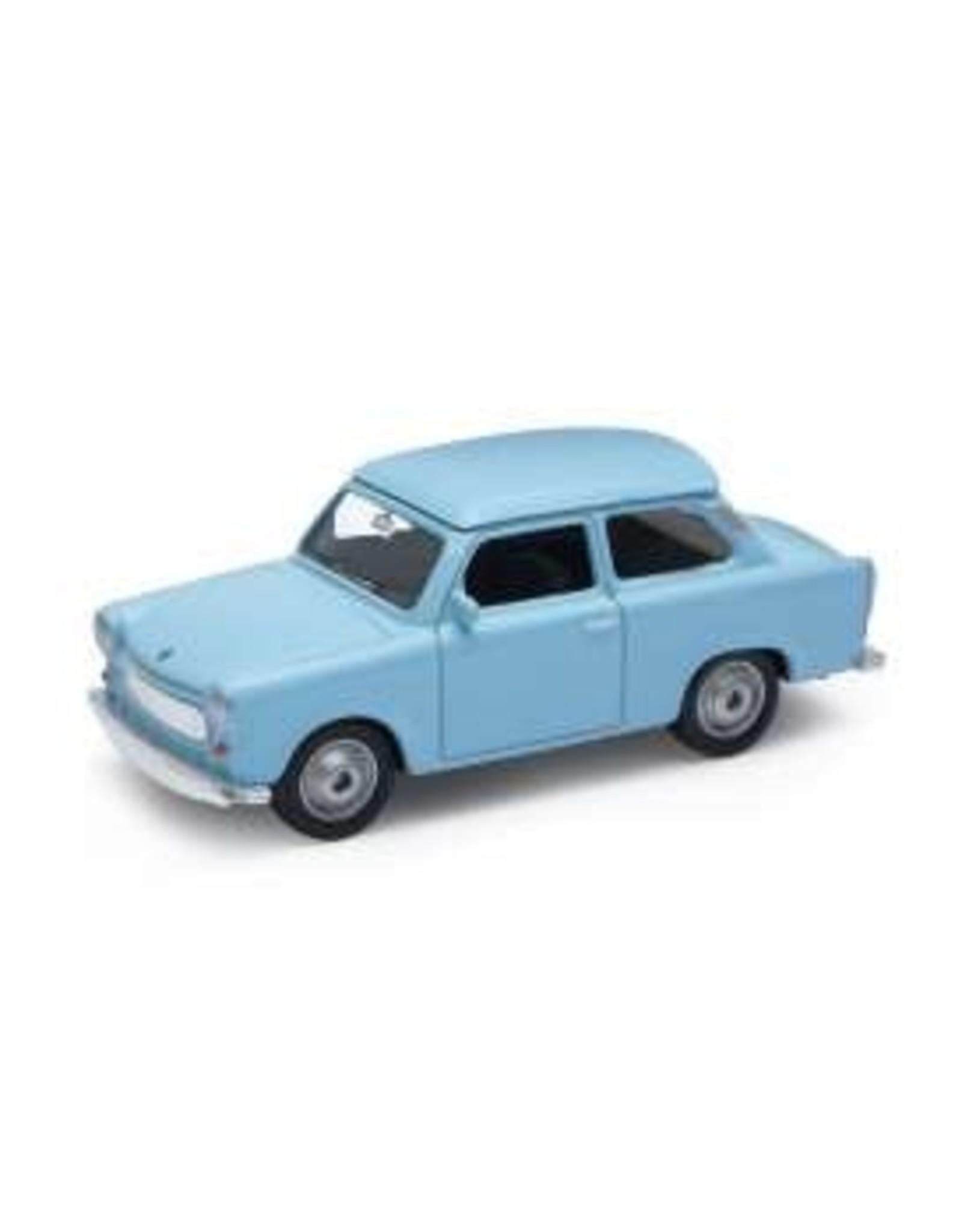 Trabant (1:60) - blauw