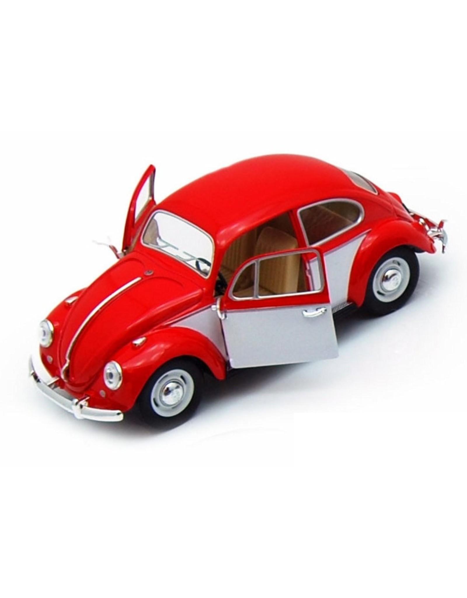 Volkswagen Beetle (1:32) - red / white