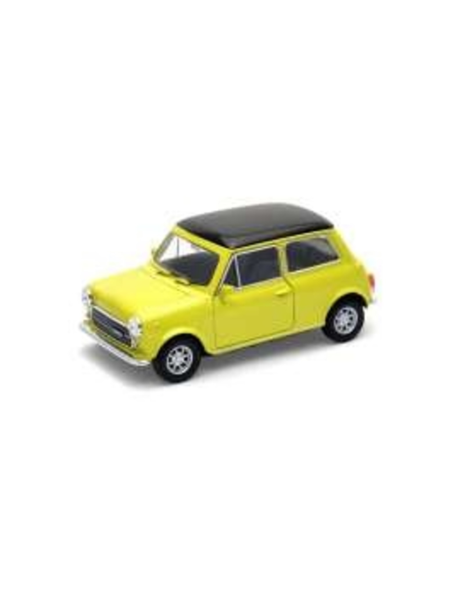 Mini Cooper (1:34) - yellow