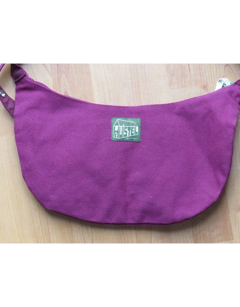 Huisteil Shoulderbag with pockets - purple