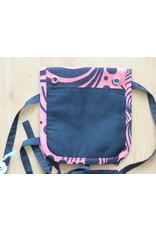 Huisteil Klein schouder tasje - roze vintage print