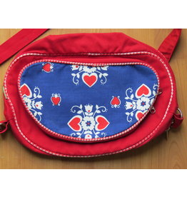 Huisteil Retro shoulder bag - hearts
