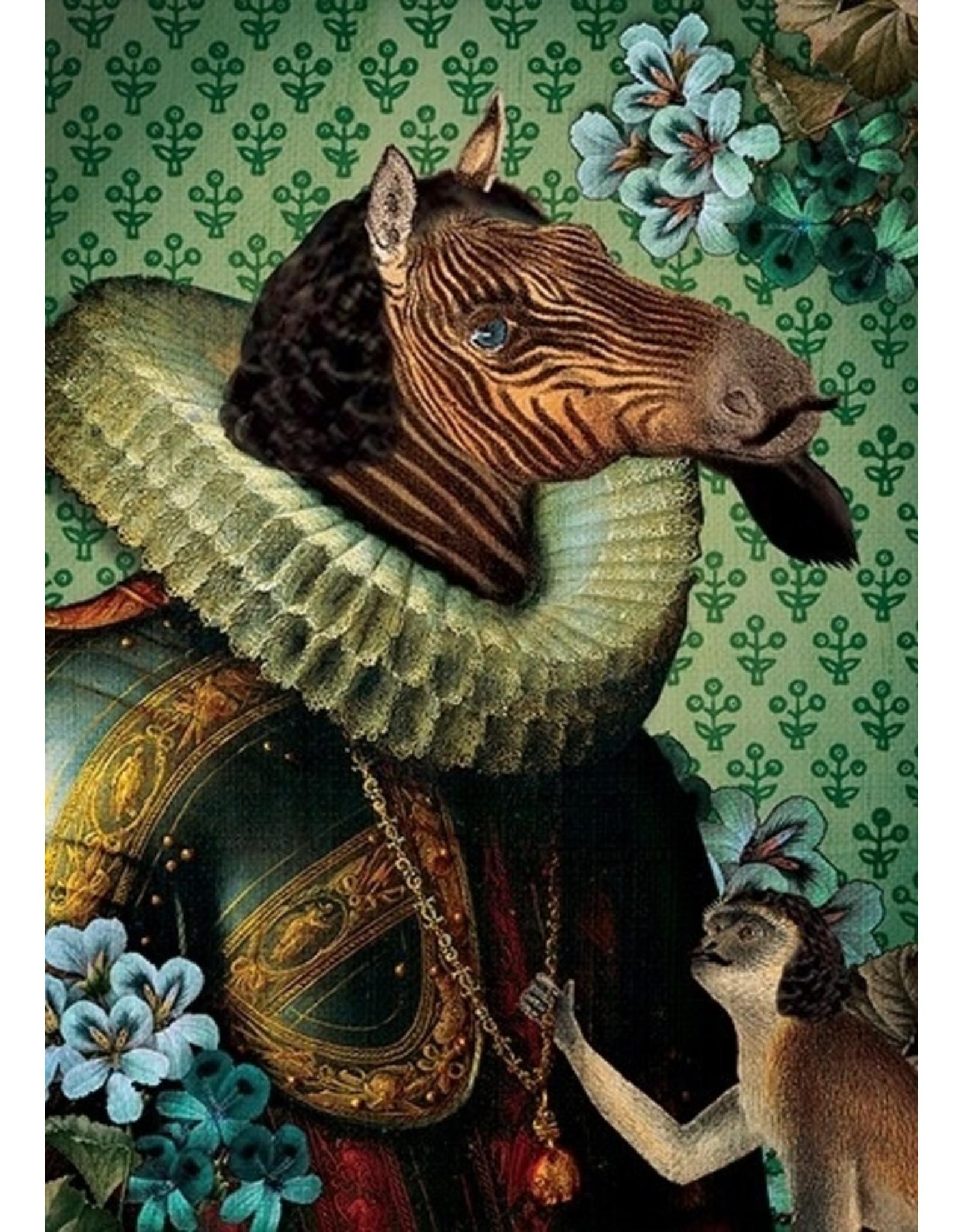 Ansicht kaart - edel paard