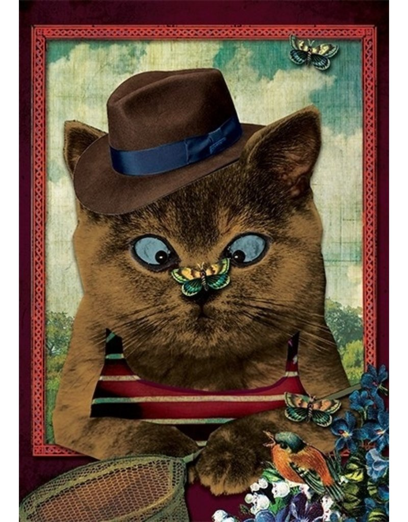 Postcard - cat