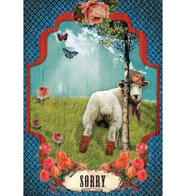 Postcard - sorry