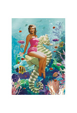 Postcard - Seahorse