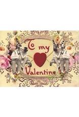 Kaartje - To my Valentine