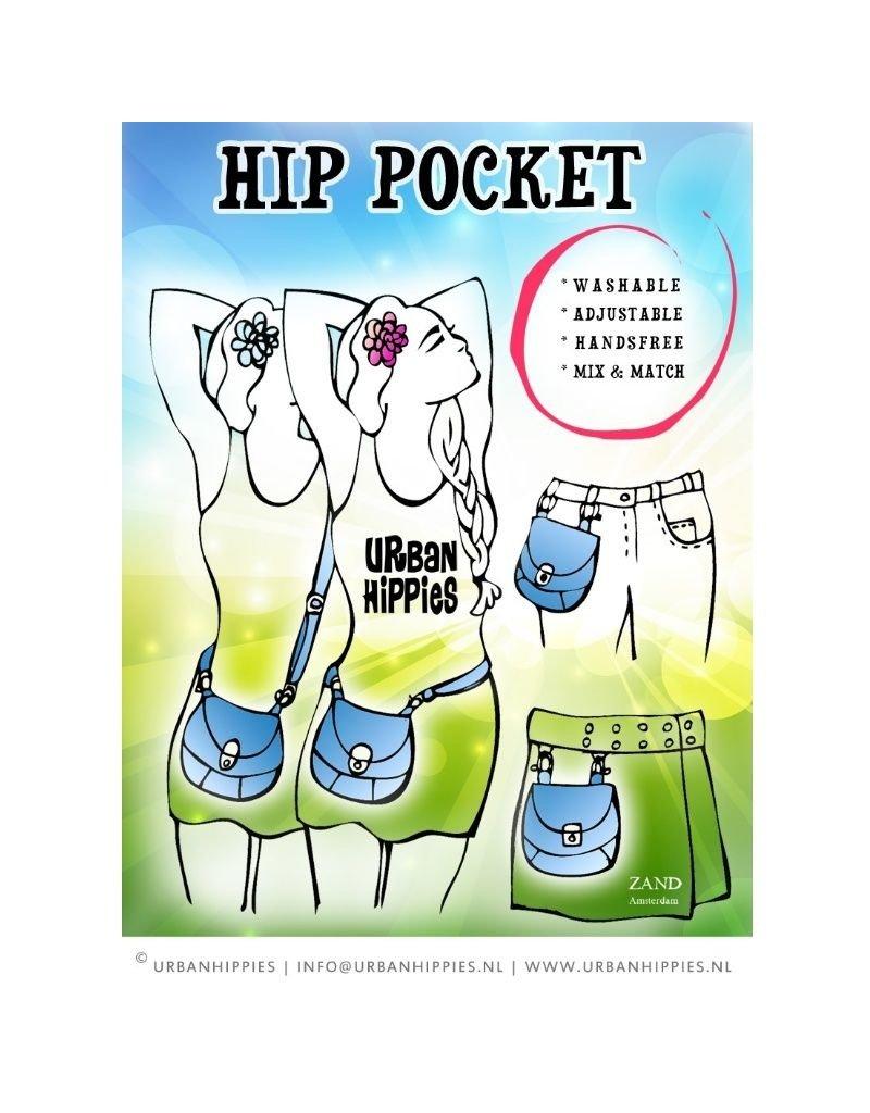 Urban Hippies - hip pocket geel
