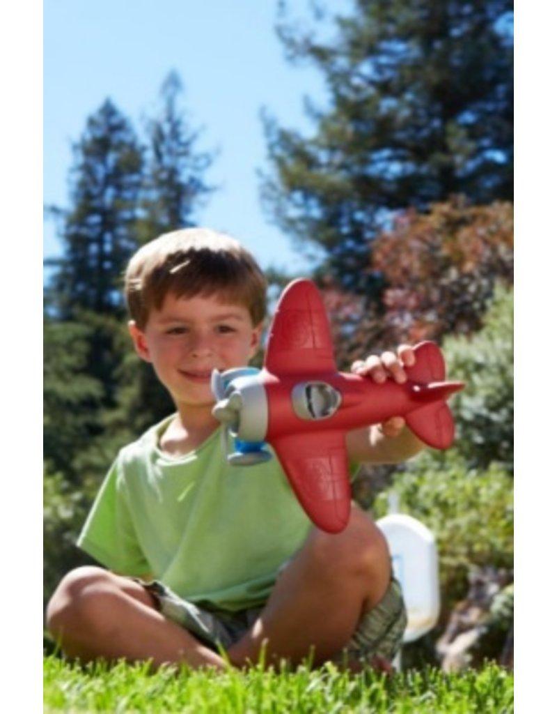 Green Toys - rode vliegtuig