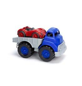 Green Toys - laadwagen plus race auto