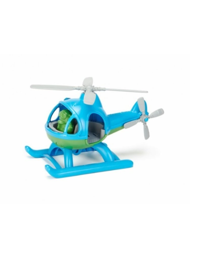 Green Toys - blue helicopter