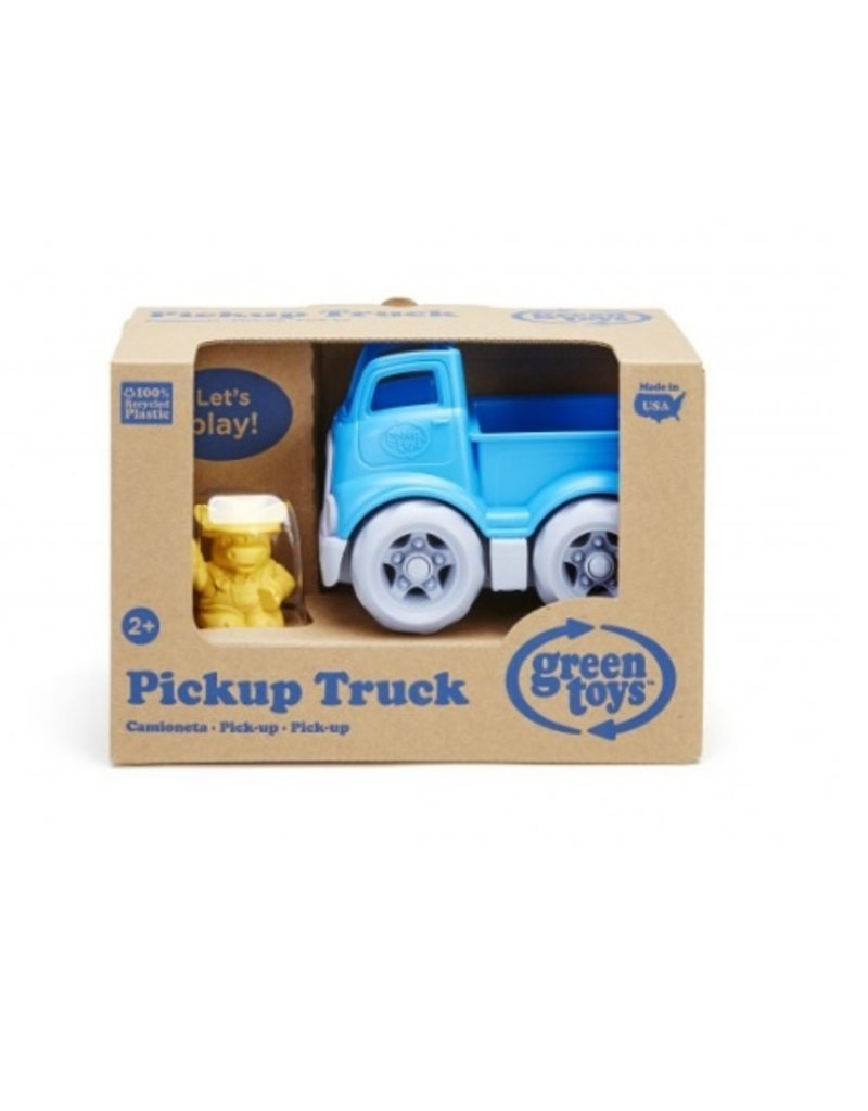 Green Toys - pickup truck