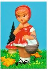 Card - Popjes Art - Red Riding Hood