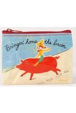 BlueQ wallet - Bringin' home the bacon