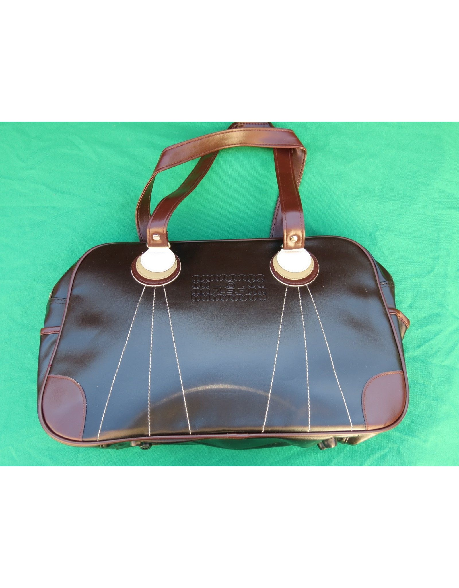 70s up sports bag - brown