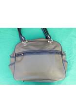 70s up shoulder bag - green/brown