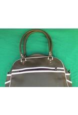 70s up shoulder bag - green/white