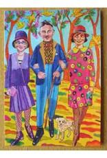 Art card - Walking