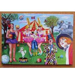 Kunst kaart - Circus