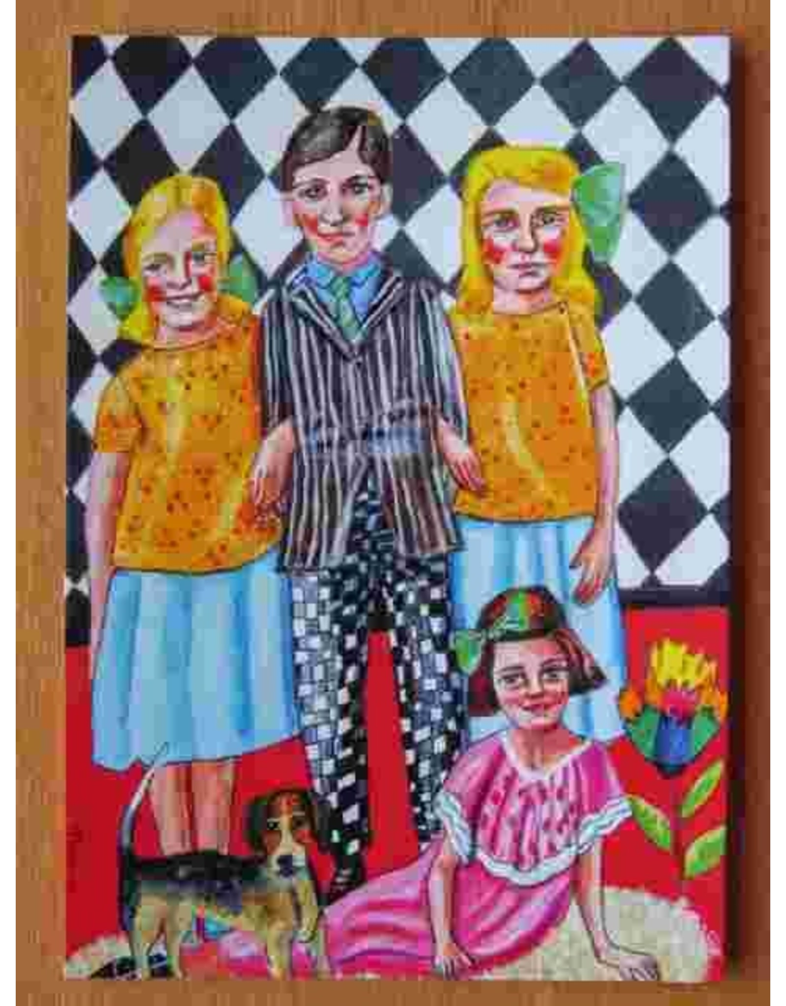 Art card - Brother and sisters