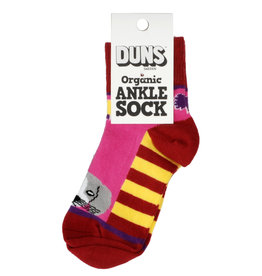 Duns Children's socks - red dog