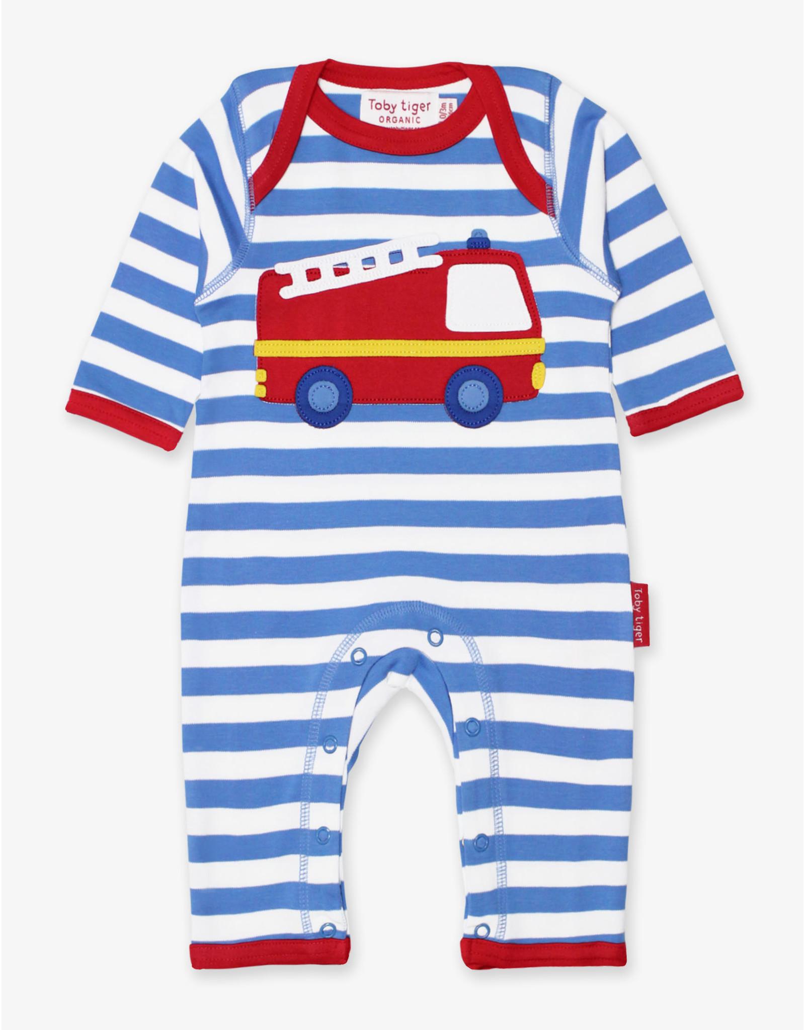Toby Tiger Baby boxpakje - brandweerauto